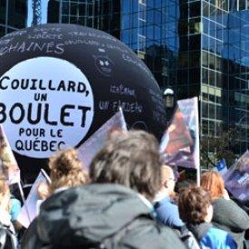 Front commun du secteur public – Plus de 100 000 manifestants à Montréal